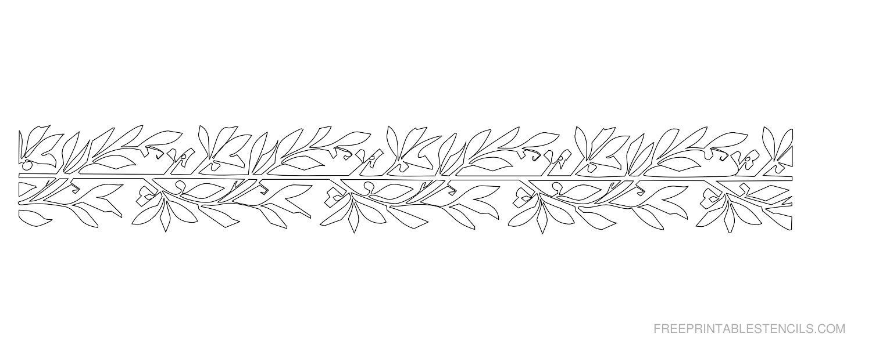 Border Stencils To Print | Free Printable Stencils - Free Printable Stencil Designs