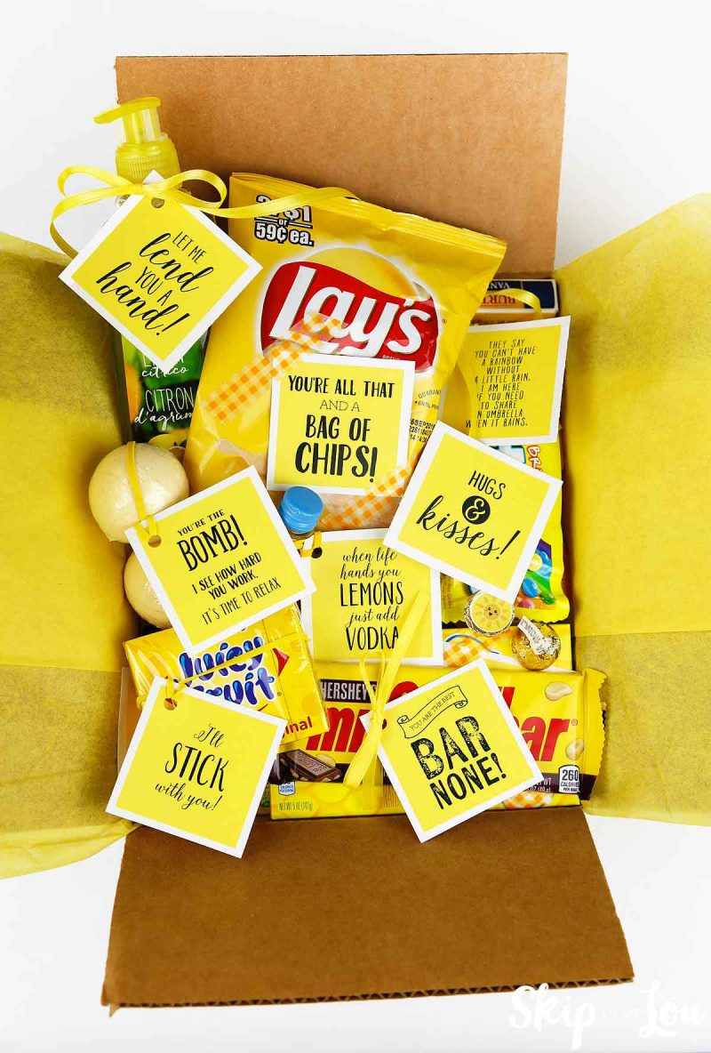 Box Of Sunshine | Skip To My Lou - Box Of Sunshine Free Printable