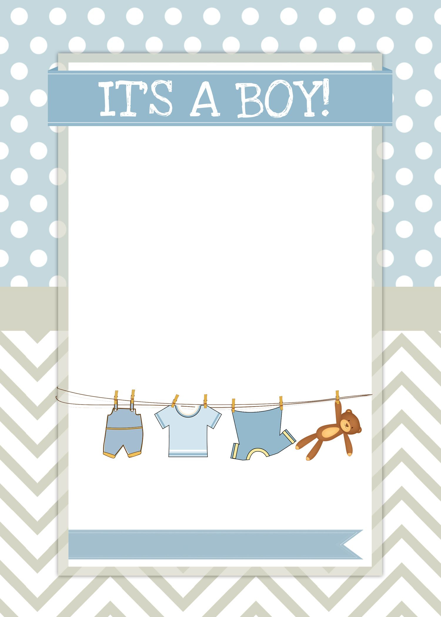 Boy Baby Shower Free Printables | Ideas For The House | Pinterest - Free Printable Baby Shower Cards Templates