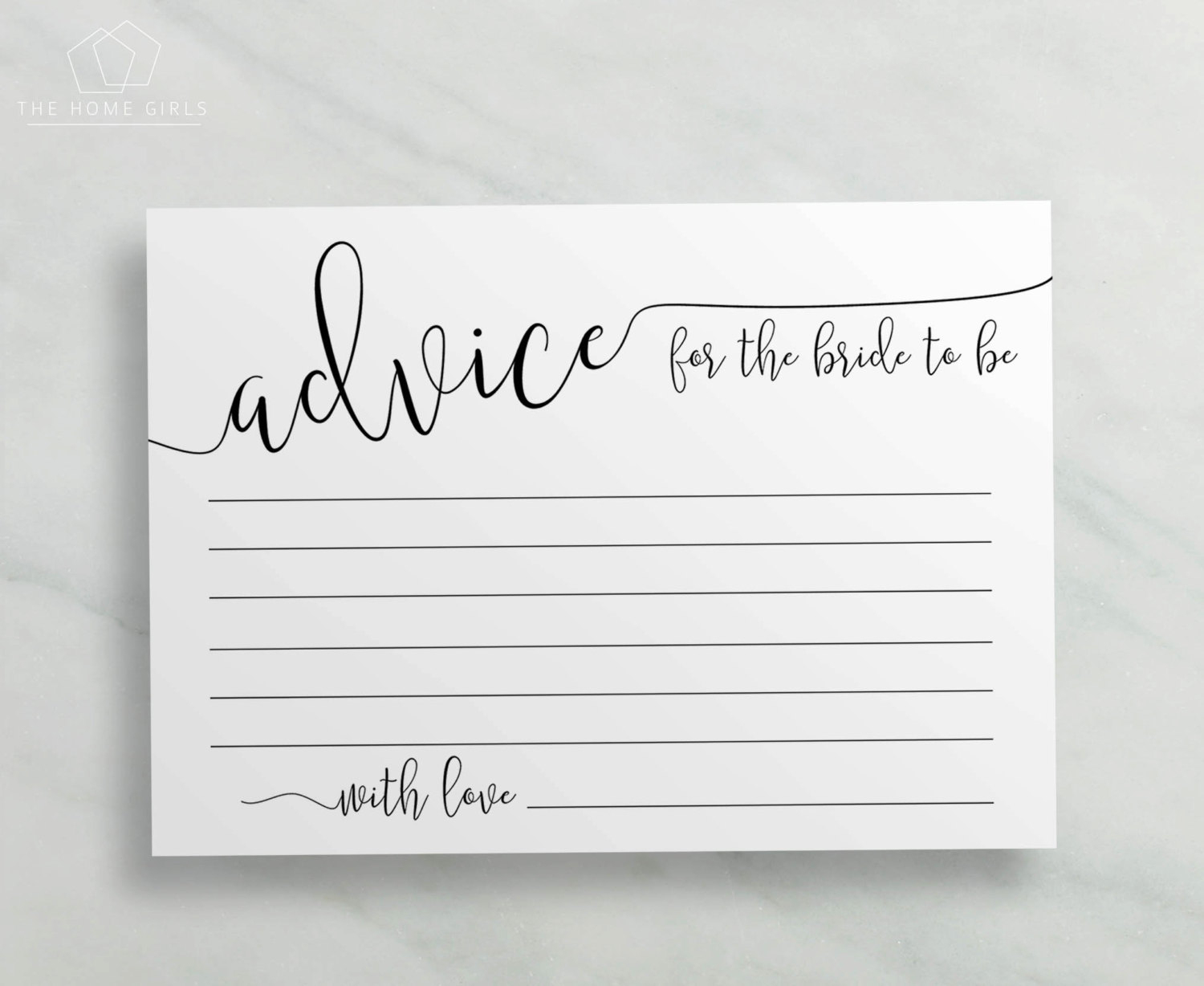Bridal Shower Advice Cards / Printable Advice For The | Etsy - Free Mommy Advice Cards Printable