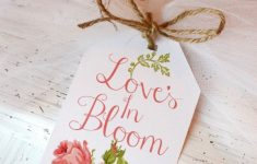 Bridal Shower Printable Gift Tag – Oh My Creative – Free Printable Wedding Shower Greeting Cards