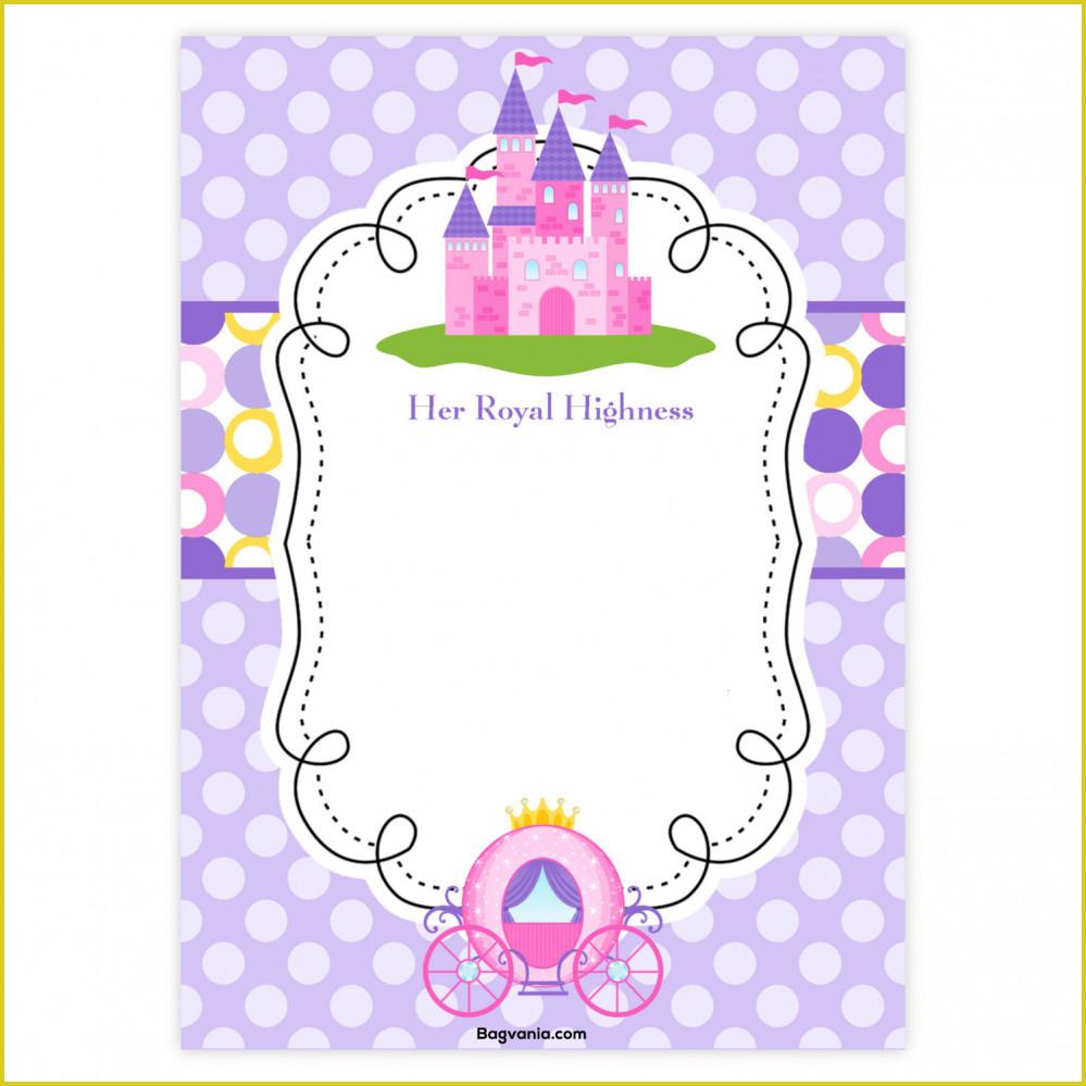 Brilliant Princess Birthday Invitations Ideas #1406 - Severeplains - Free Printable Princess Invitations