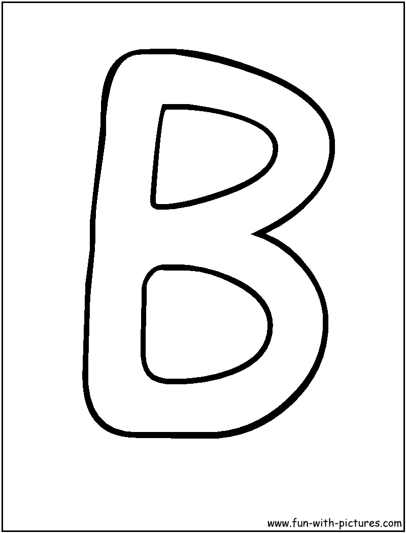 Bubble Letters B Coloring Page | Alphabet | Pinterest | Bubble - Free Printable Bubble Letters