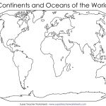 Bunch Ideas Of Blank World Map Continents Pdf For Your Best With   Free Printable World Map Pdf