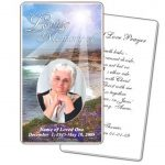 Business Card Psd Template Funeral Prayer Card Template Free Frd28   Free Printable Funeral Prayer Card Template