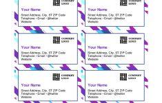 Free Printable Business Card Templates Pdf