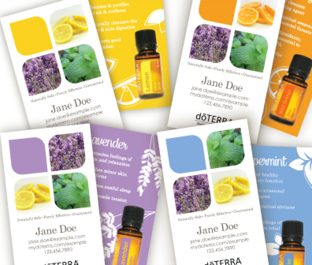Business Card Templates - Creative Essentials In Free Printable - Free Printable Doterra Sample Cards