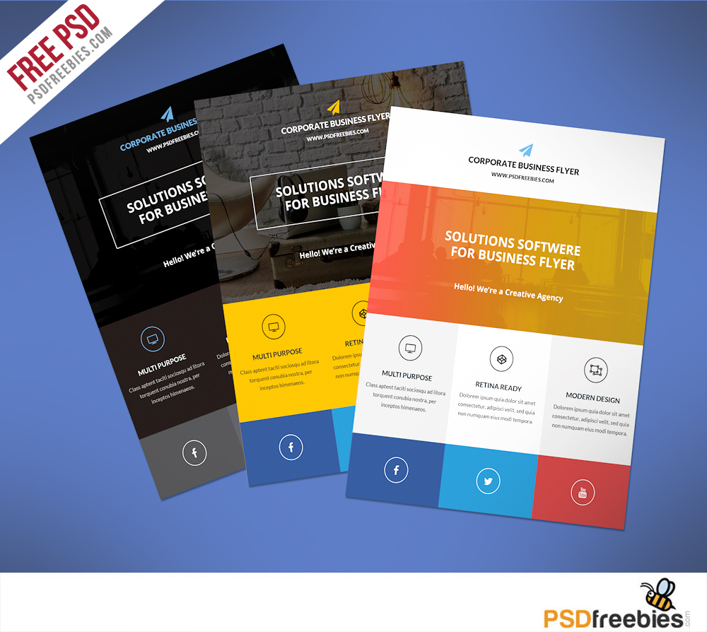 Business Flyer Templates Free Printable | Ellipsis - Create Free Printable Flyer