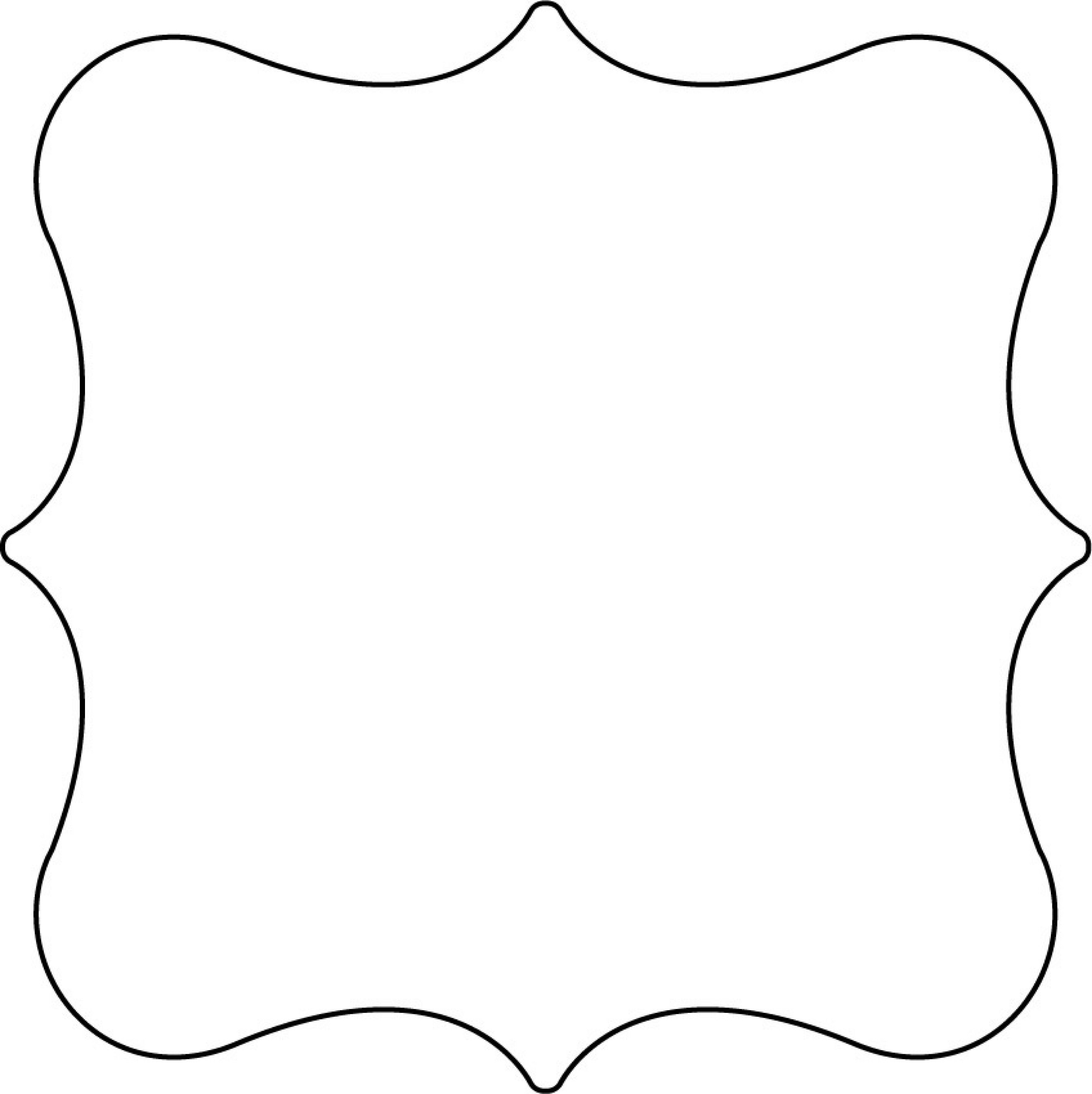 Cake Templates | Clear Scraps Xl Shapes | Cake Decorating - Free Shape Templates Printable
