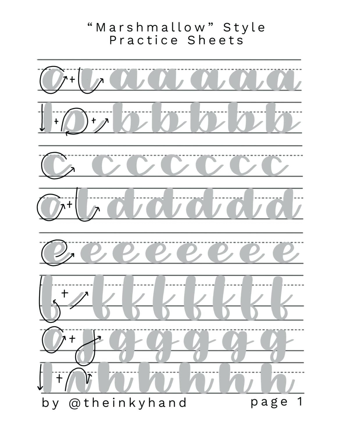 Calligraphy Fonts Practice Sheets Image 0 Free Calligraphy Font - Modern Calligraphy Practice Sheets Printable Free