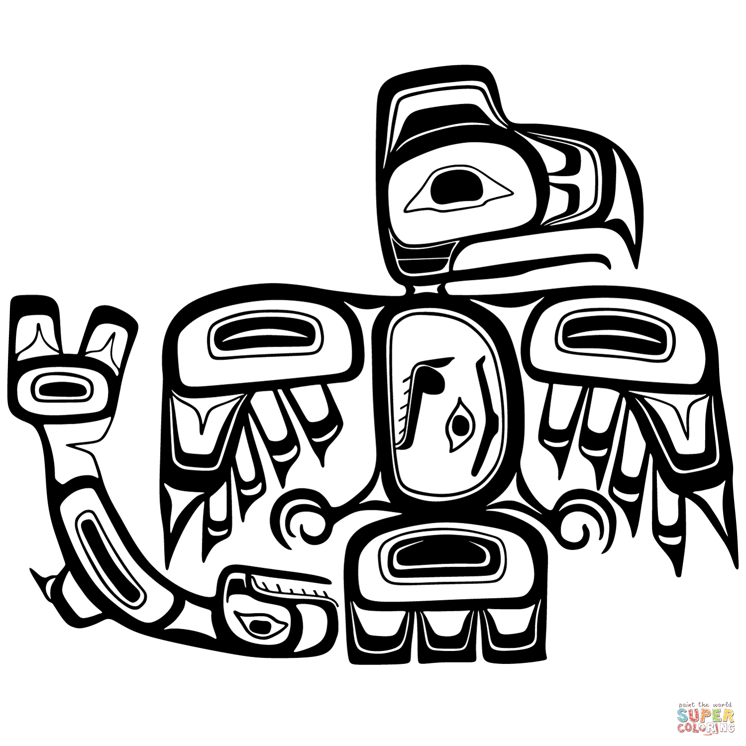 Canadian Aboriginal Art Coloring Pages | Free Coloring Pages - Free Printable Aboriginal Colouring Pages