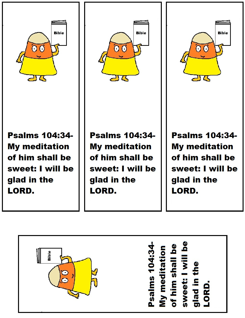 Candy Corn Sunday School Lesson|Fall Sunday School Lessons - Free Printable Bible Crafts