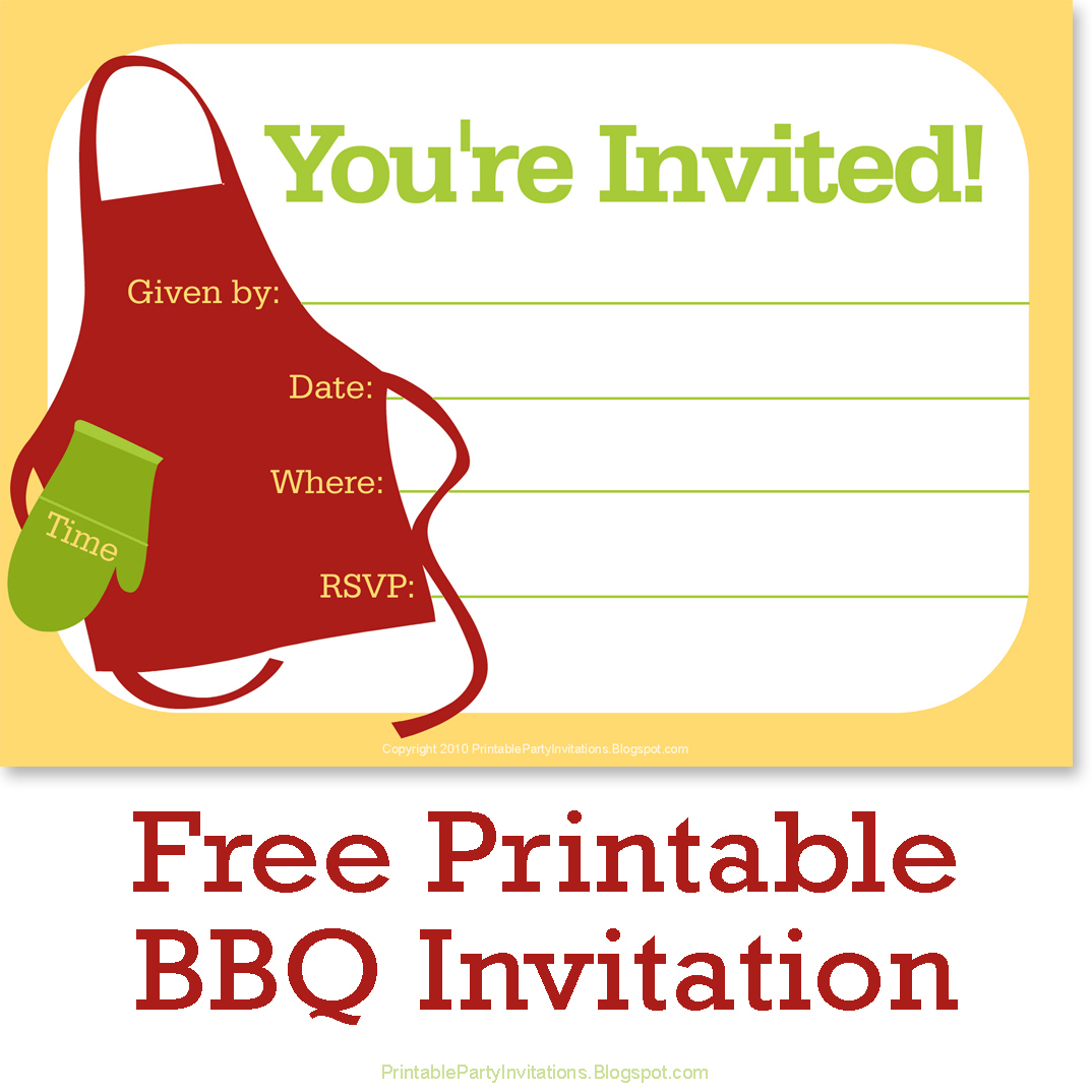 Can't Find Substitution For Tag [Post.body]--> Invitations Template - Free Printable Cookout Invitations