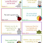 Cap Creations: Free Printable Lunchbox Bible Verse Cards   Free Printable Bible Verse Cards