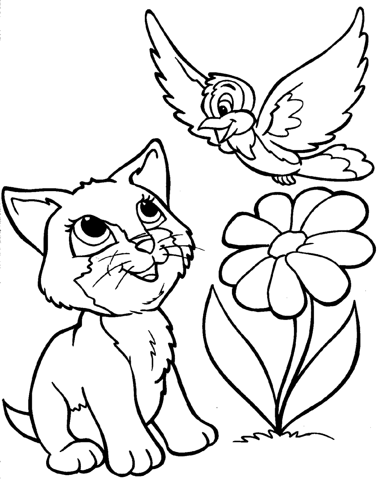 Cat In The Hat Coloring Pages Free Printable | Animal Coloring - Free Printable Animal Coloring Pages
