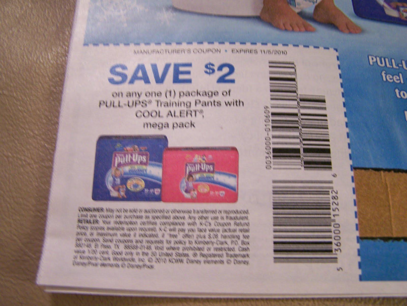 Centsible Savings: 4 Readers Win (4) $2.00/1 Pullups Coupons - Free Printable Coupons For Huggies Pull Ups
