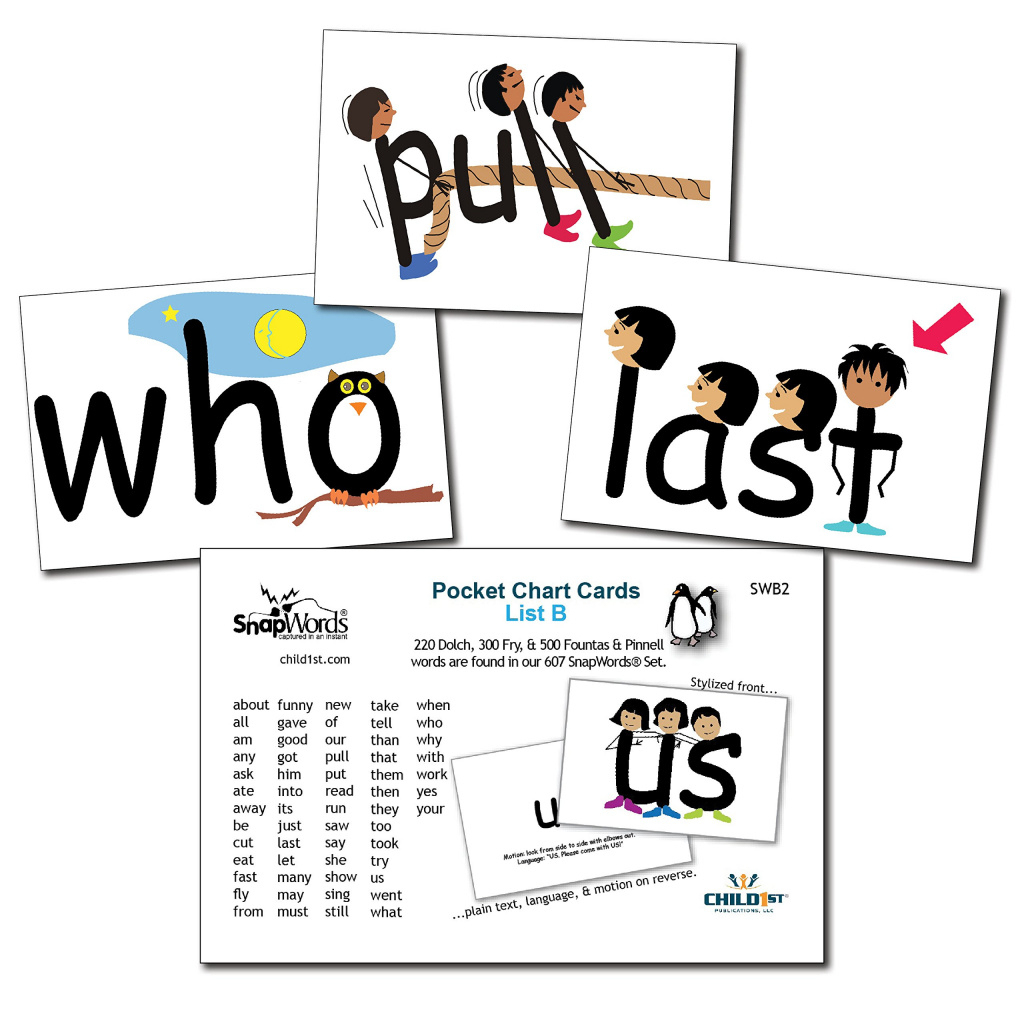 Cheap Sight Word Cards Printable Free, Find Sight Word Cards - Free Printable Snap Cards