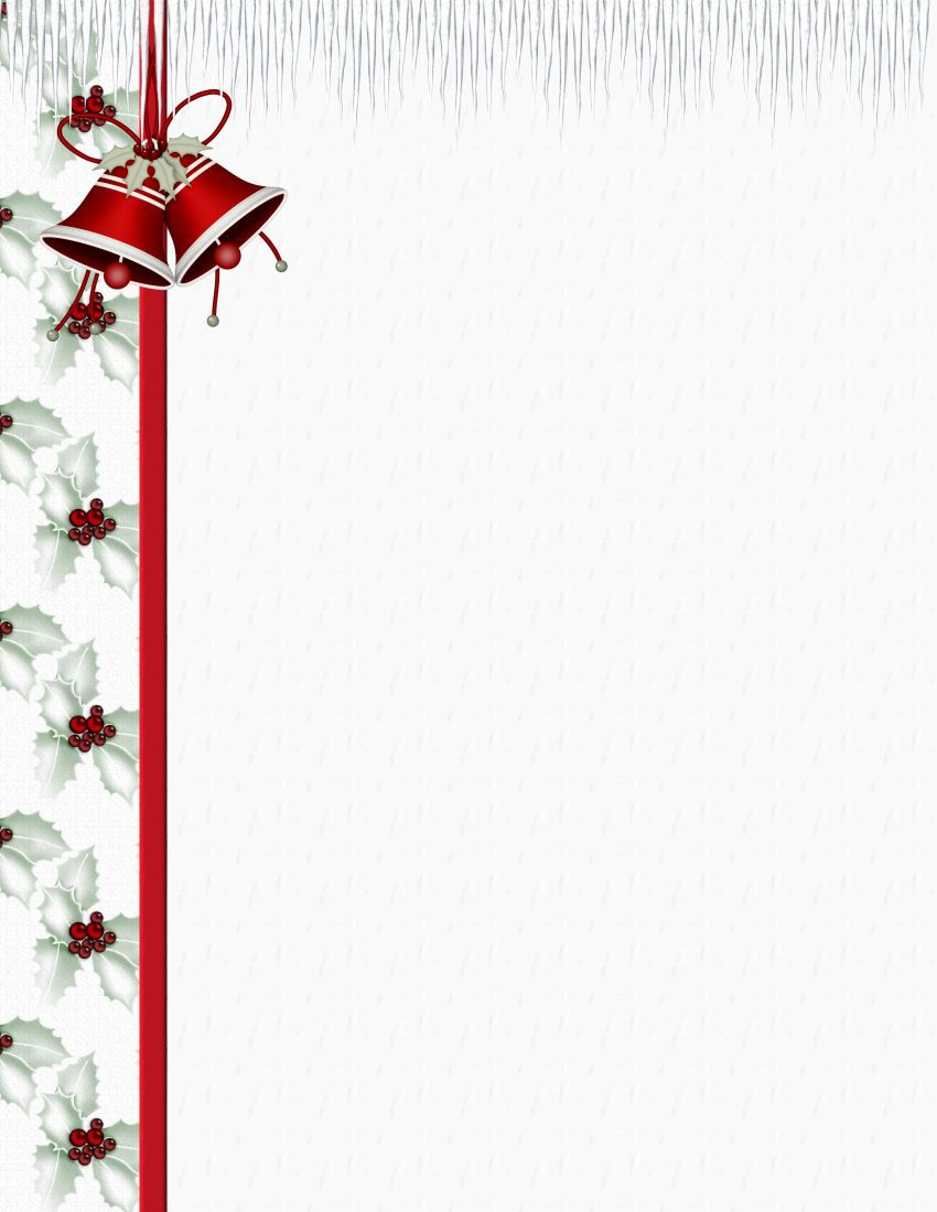 Christmas 3 Free-Stationery Template Downloads | Stationary - Free Printable Christmas Stationary Paper