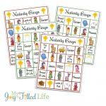 Christmas Bingo Game, Nativity Bingo Printable Holiday Bingo   Free Printable Religious Christmas Games