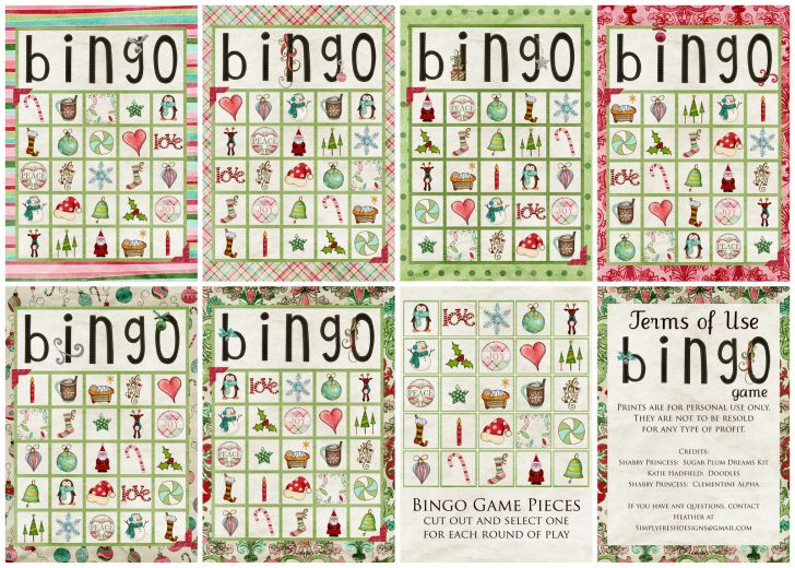 Free Printable Spanish Bingo Cards