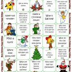 Christmas Board Game Worksheet   Free Esl Printable Worksheets Made   Free Printable Christmas Board Games