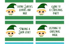 Christmas Charades Free Printable – Start A New Holiday Tradition – Ftm – Free Printable Charades Cards