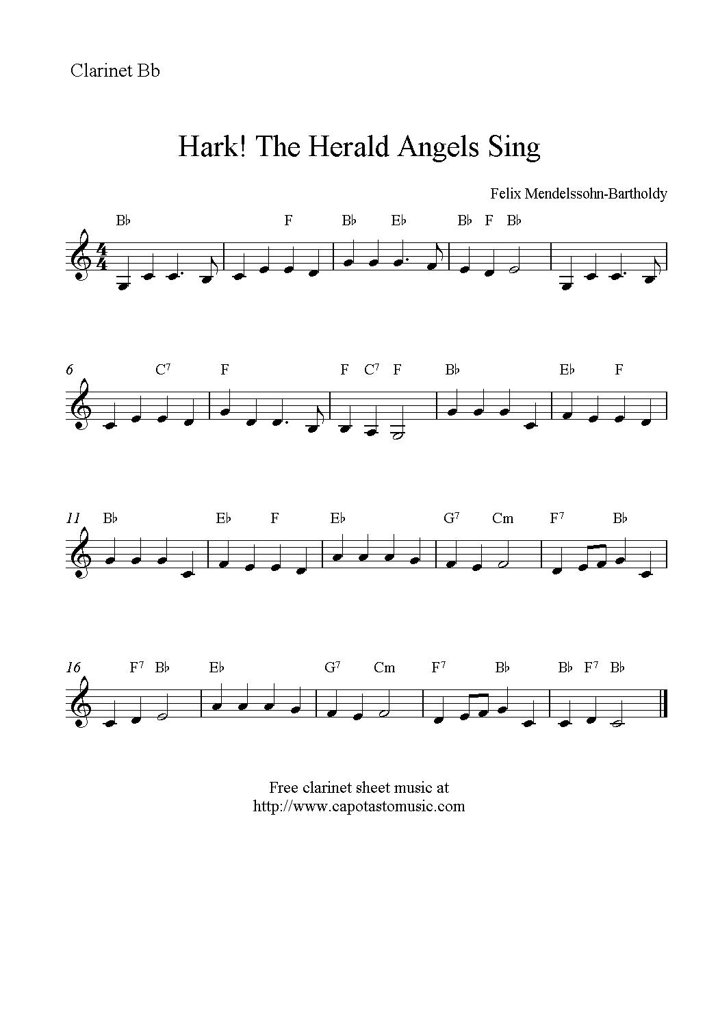 Christmas Clarinet Sheet Music Free - Google Search | Music - Free Printable Christmas Sheet Music For Clarinet