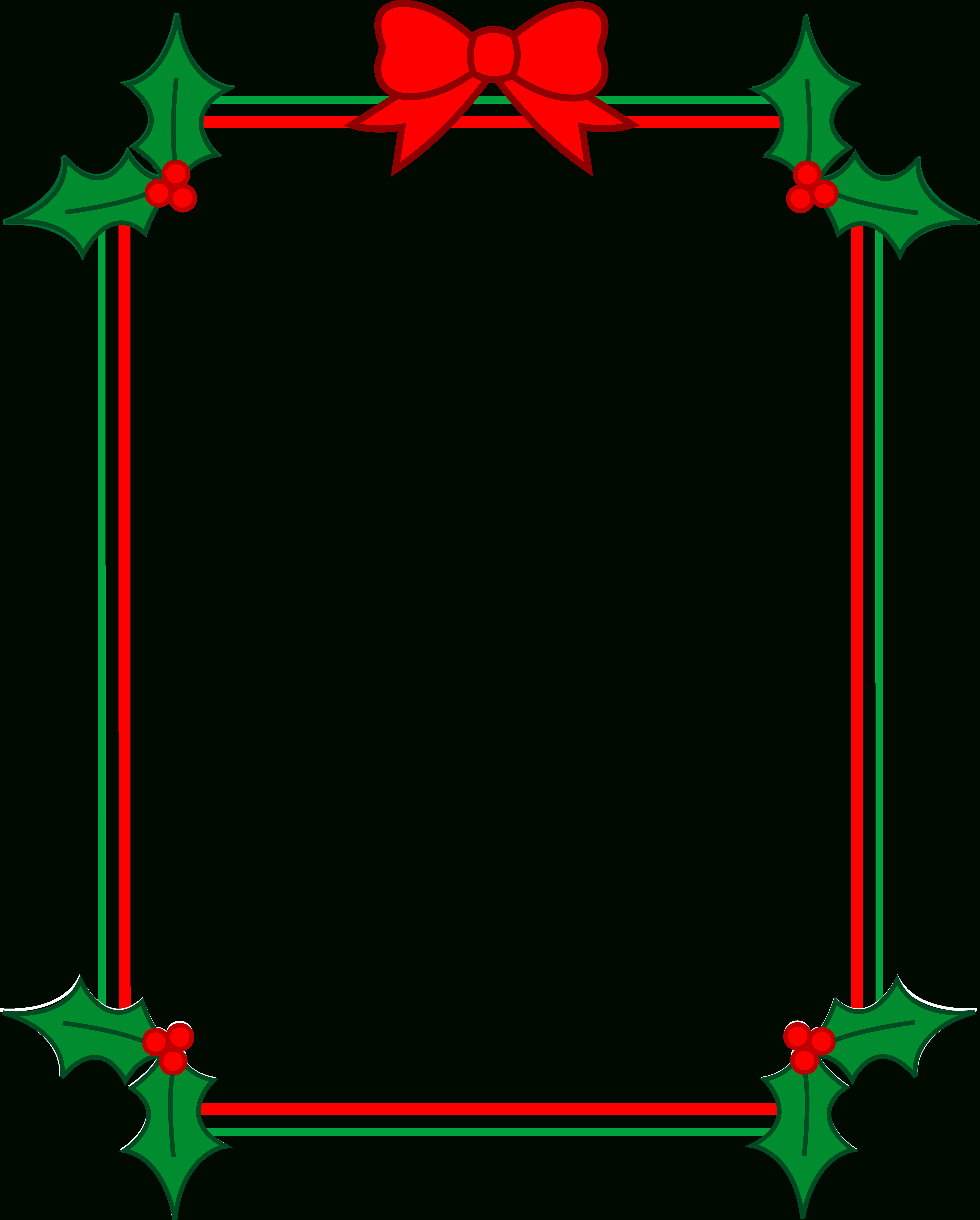 Christmas Clip Art Borders Free Download | Clipart Panda - Free - Free Printable Christmas Frames And Borders
