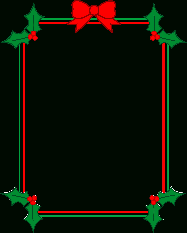 Christmas Clip Art Borders Free Download | Clipart Panda - Free - Free Printable Christmas Frames And Borders