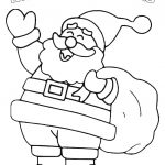 Christmas Coloring Pages | Fun Stuff For Kids | Free Christmas   Santa Coloring Pages Printable Free