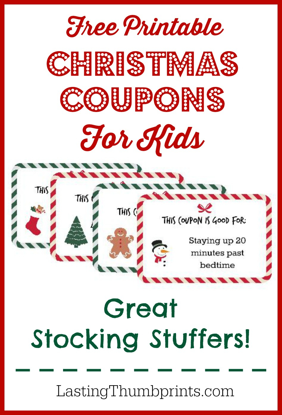 Christmas Coupons For Kids - Free Printable! - Free Printable Coupons 2014