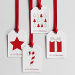 Christmas Diy Week 2/8: Paint Chip Gift Tags With Free Printable – A   Diy Gift Tags Free Printable