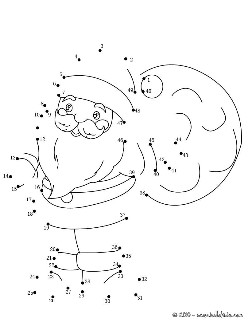 Christmas Dot To Dot - 24 Free Dot To Dot Printable Worksheets For Kids - Free Christmas Connect The Dots Worksheets Printable