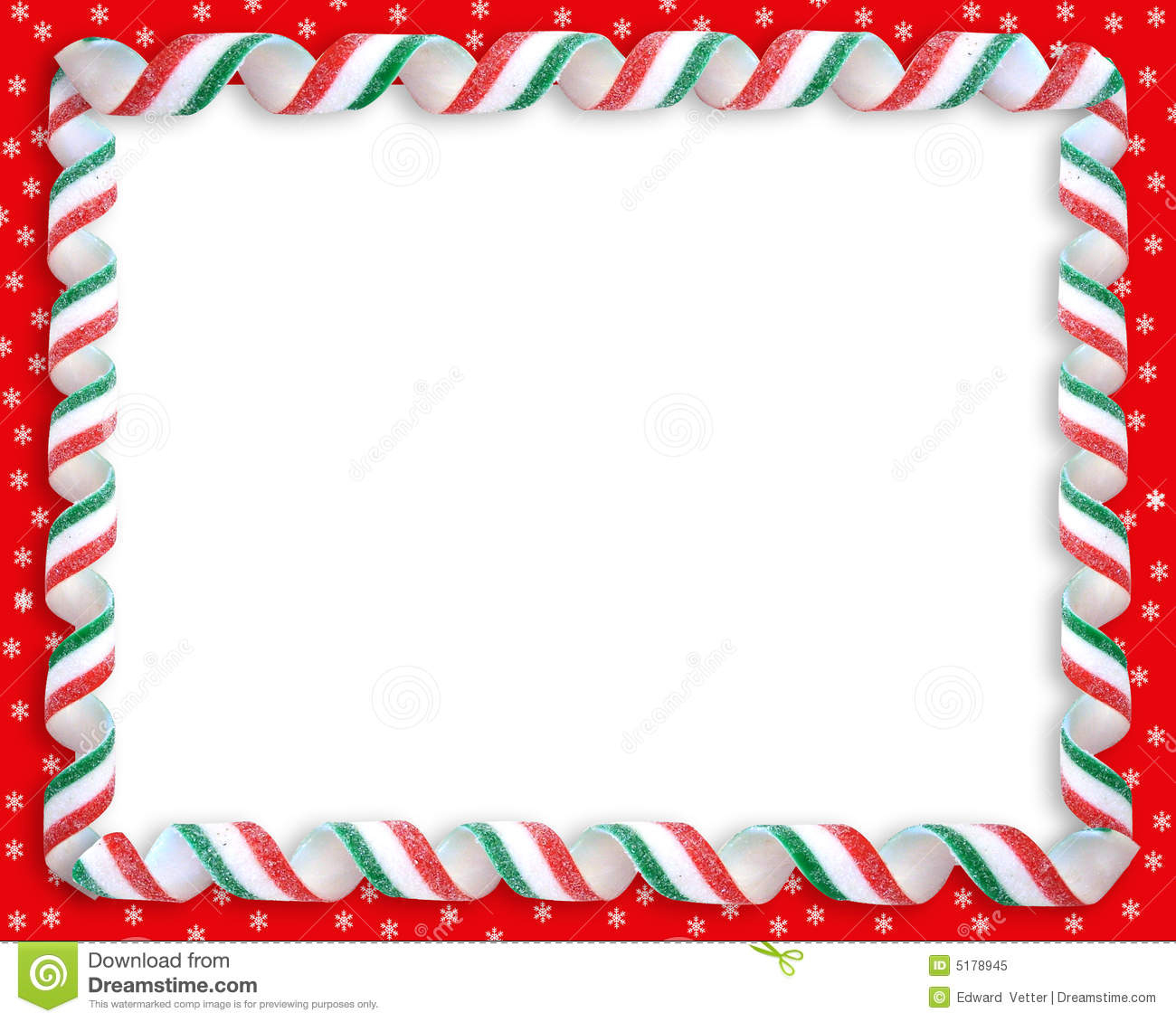 Christmas Frames And Borders Photoshop Clipart. A Christmas Border - Free Printable Christmas Frames And Borders