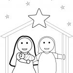 Christmas Nativity Scene Coloring Page | Free Printable Coloring Pages   Free Printable Pictures Of Nativity Scenes