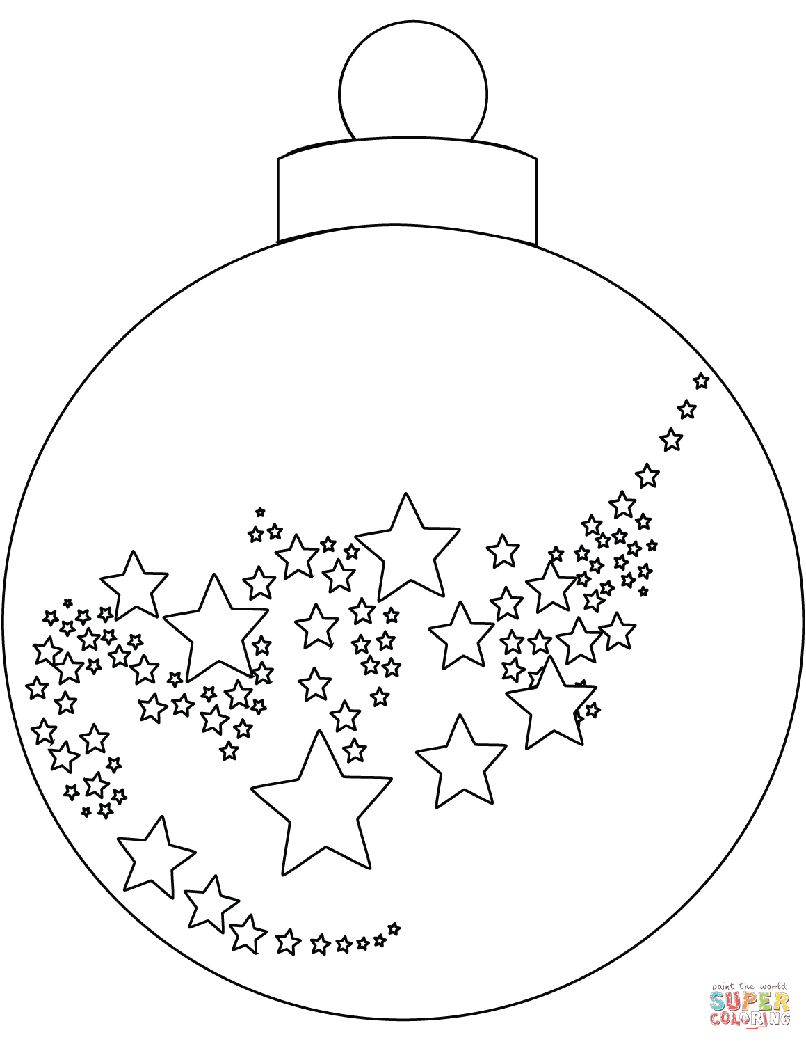Christmas Ornament Coloring Page | Free Printable Coloring Pages - Free Printable Christmas Ornaments