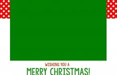 Free Online Christmas Photo Card Maker Printable
