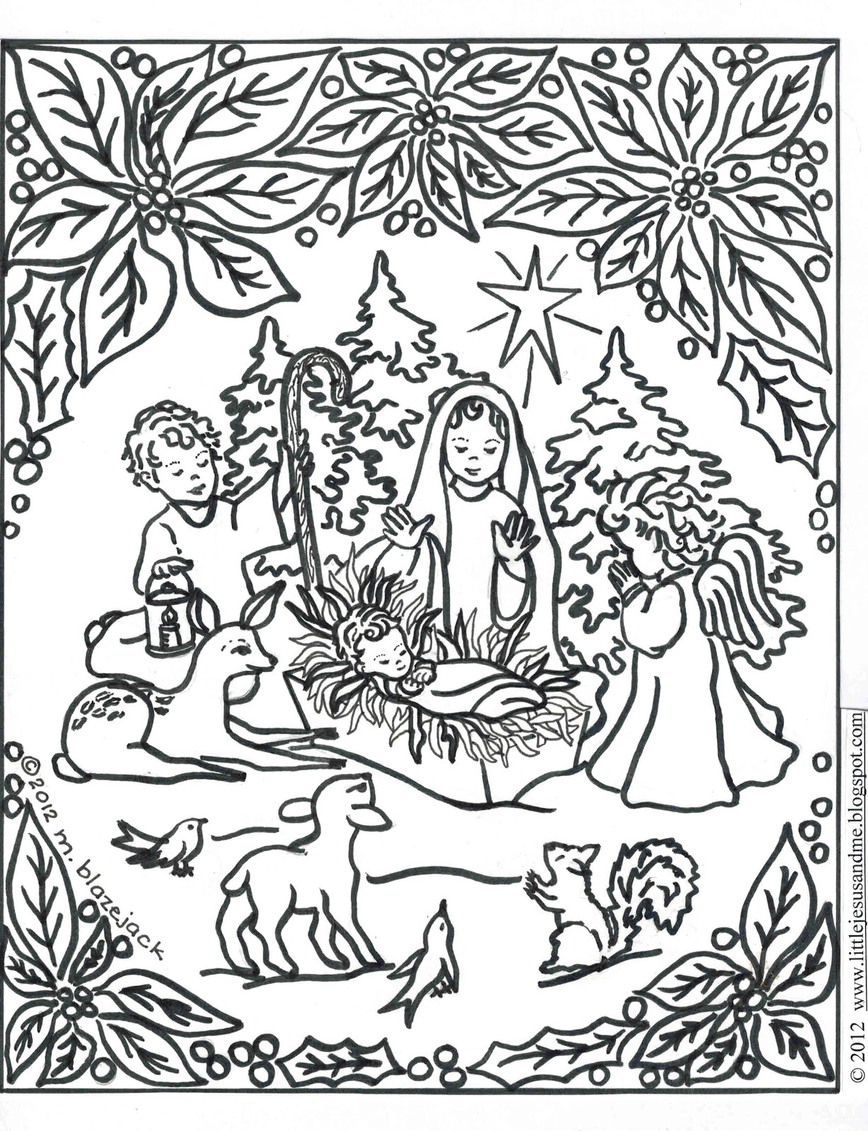 Christmas Printable Coloring Pages For Jesus. Baby Jesus Colour - Free Printable Christmas Baby Jesus Coloring Pages