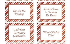 Free Printable Christmas Song Picture Game