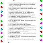 Christmas Trivia Game. Free Printable | Group Games | Pinterest   Free Printable Group Games