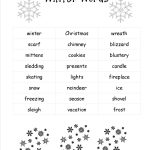 Christmas Worksheets And Printouts   Free Printable Christmas Worksheets For Third Grade