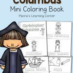 Christopher Columbus Coloring Pages   Mamas Learning Corner   Free Printable Christopher Columbus Coloring Pages