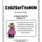 Chrysanthemum   Study Guide   Grades 2 To 4   Ebook   Lesson Plan   Chrysanthemum Free Printable Activities