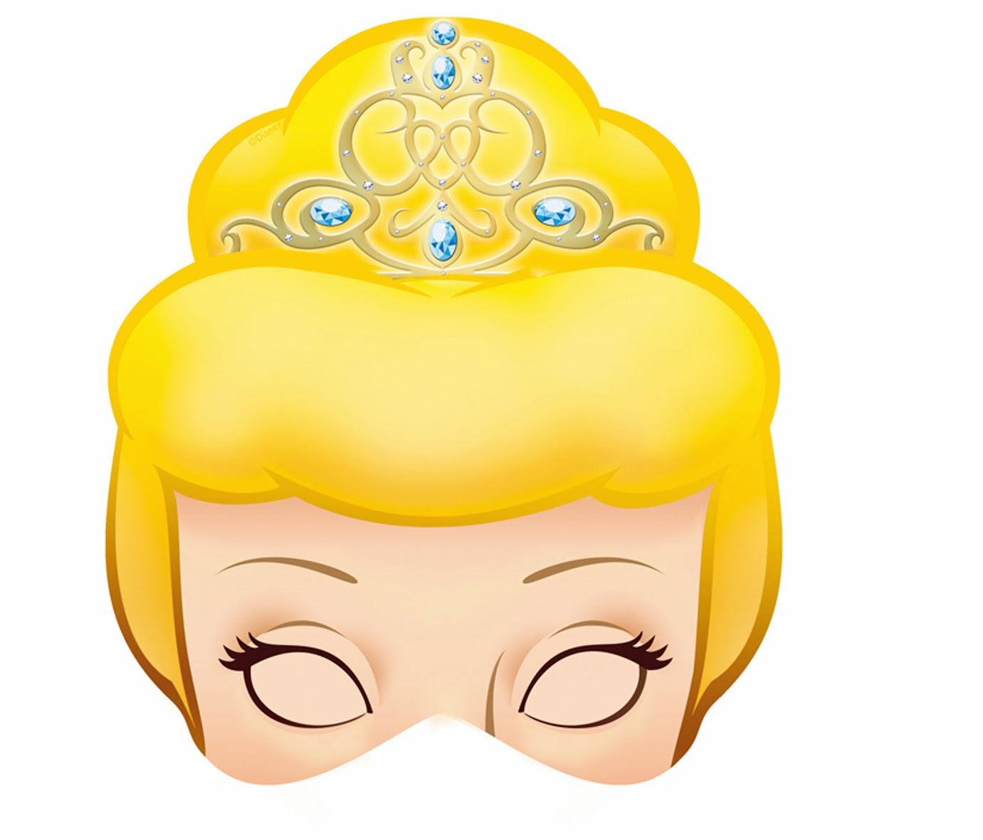Cinderella Free Printable Masks. | Oh My Fiesta! In English - Free Printable Masks