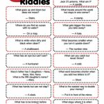 Clever Riddles For Kids With Answers (Printable Riddles!) | For The   Free Printable Riddles