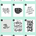 Coffee Free Printables: 180+ Ultimate Guide • Little Gold Pixel   Free Printable Coffee Bar Signs