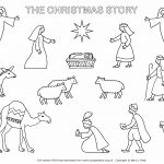 Collection Of Printable Christmas Nativity Coloring Pages | Download   Free Printable Christmas Story Coloring Pages