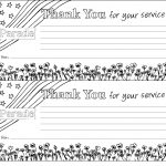 Color A Free Downloadable Veterans Day Thank You Note Or Make A Pipe   Veterans Day Free Printable Cards