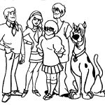 Coloring Pages : Awesome Scoo Doo Coloring Pages Design Printable   Free Printable Coloring Pages Scooby Doo