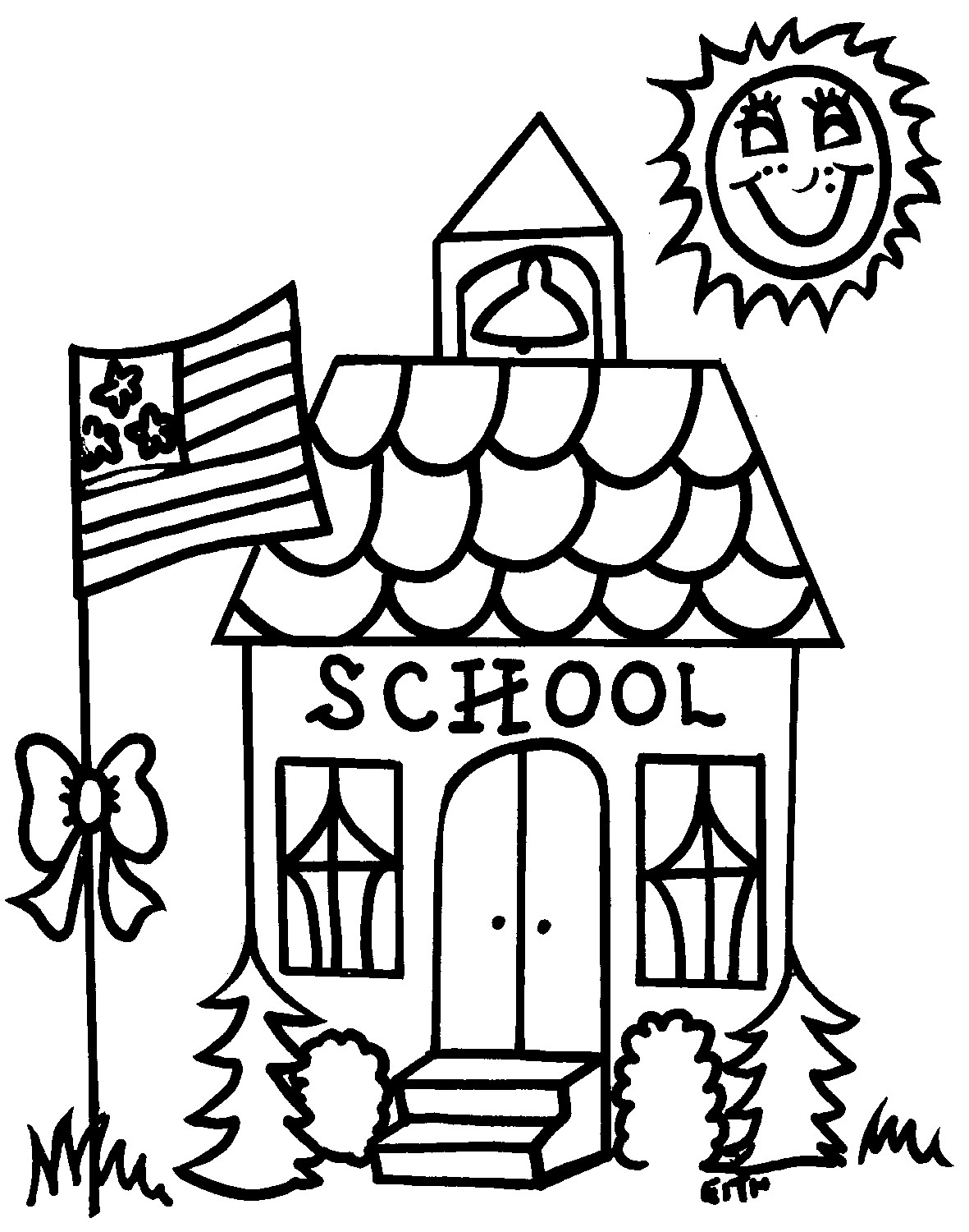 Coloring Pages : Back To Schooling Pages Free Printable Page - Back To School Free Printable Coloring Pages